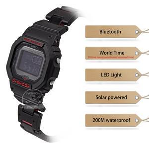 Image 2 - Casio smart watch men g shock top luxury Waterproof Sport Bluetooth Solar Radio controlled digital men watch relogio masculino
