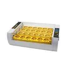 24 инкубатор для цыплят контроль температуры цифровой автоматический инкубатор для цыплят инкубатор для яиц с американской вилкой