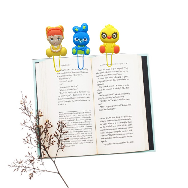 8pcs Hot Cartoon Figure Bookmarks For Kids Book Mark Paper Clips Page Holder For School Teacher Office Supply Kids Xmas Gift