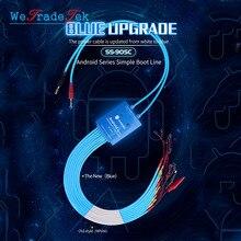 SS 905C 안드로이드 원 버튼 부팅 제어 라인 화웨이 xiaomi 삼성 meizu oneplus oppo 안티 화상 테스트 케이블 전원 공급 장치 라인