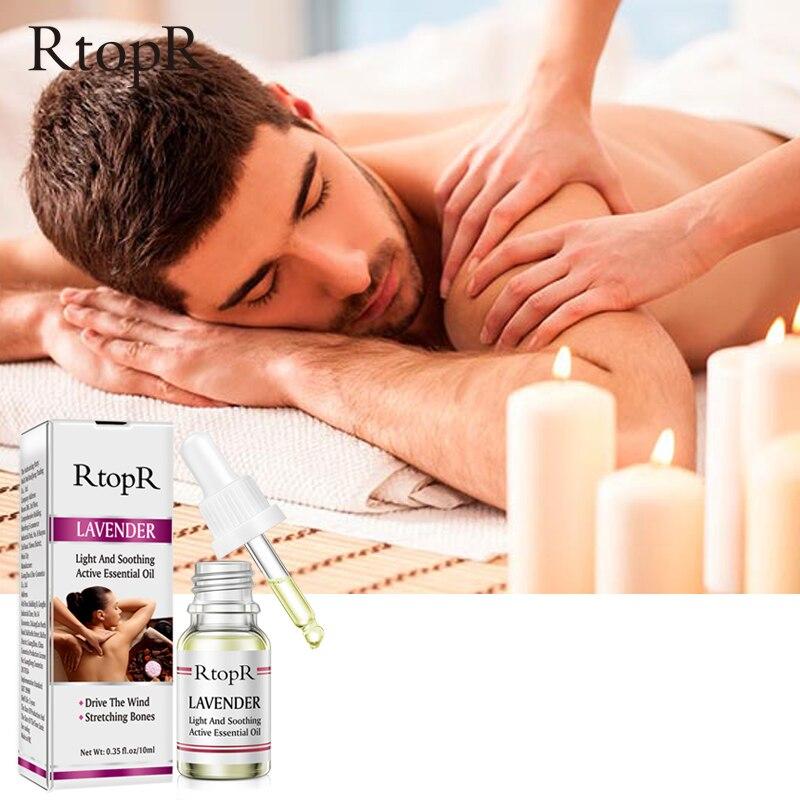 RtopR Skin Care Pure Plant Lavender Essential Oil Skin Anti-Aging Body Massage Oil Ginger Essential Oil For Scrape Therapy SPA 1