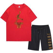 Summer hot-selling printed men's/women's T-shirts/shorts suits series new Harajuku fashion street comfortable men's suits