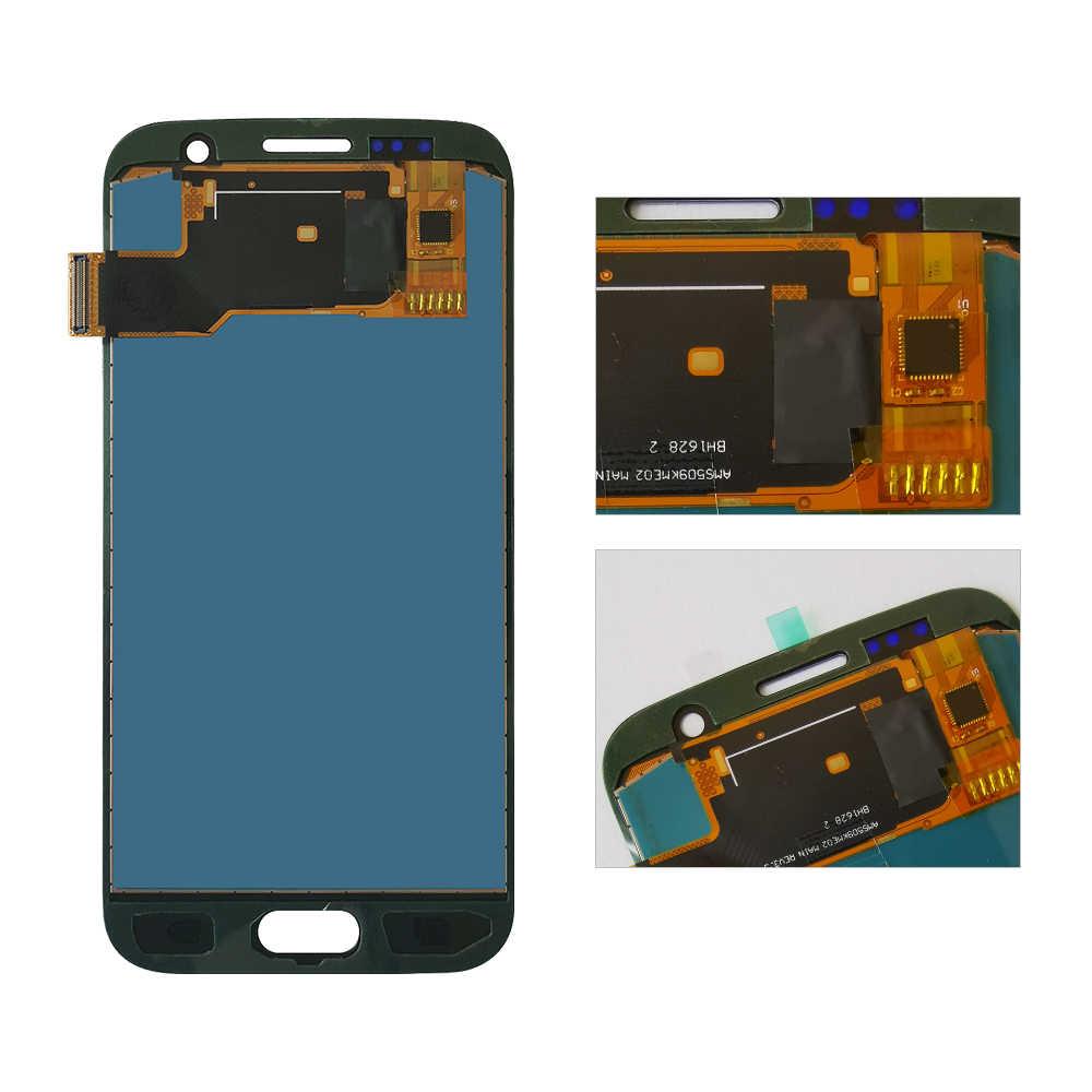 5.1 بوصة TFT S7 Lcd لسامسونج غالاكسي S7 G930 G930F شاشة LCD محول الأرقام SM-G930F G930F G930FD الجمعية استبدال