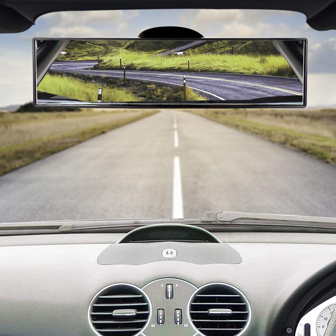 Регулируемое автомобильное Панорамное зеркало заднего вида 4 дюйма 8 дюймов 13 дюймов широкий угол интерьера заднего вида с присоской