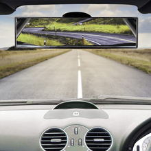 Adjustable Car Panoramic Interior Rear View Mirror 4inch 8inch 13inch Wide Angle Interior Rearview With Suction Cup