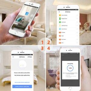 Image 3 - Wifi Thông Minh Cắm 16A Từ Xa Điều Khiển Giọng Nói Nguồn Màn Hình Ổ Cắm Ổ Cắm Chức Năng Thời Gian Làm Việc Với Alexa Google Nhà Tuya