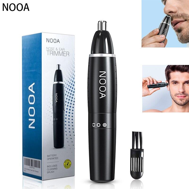 NOOA5531-1 триммер для носа и ушей мини машинка для стрижки волос в носу для мужчин триммер для носа для удаления волос в носу с шаровидным графит...