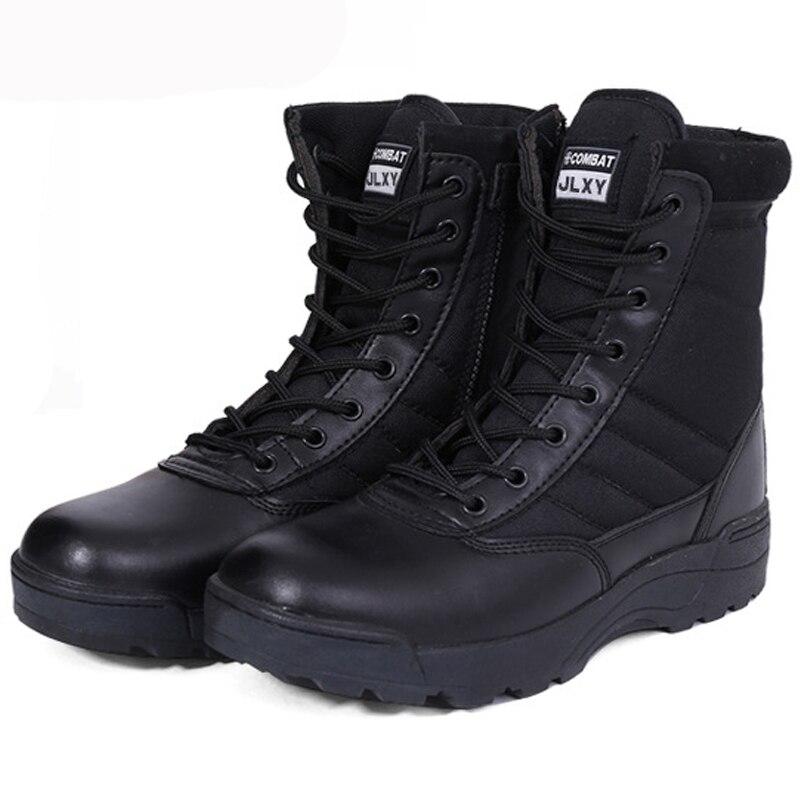 Men Women Outdoor Waterproof Trekking Hiking Shoes Black / Khaki Travel Sneakers Non-slip Sports Military Tactical Hunting Boots