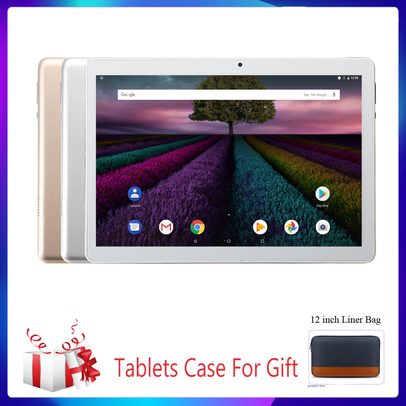 New 10.1 Inch Tablet PC System 9.0 3G Phone Call 2GB+32GB ROM Quad Core Bluetooth 4.0 Wi-FI 2.5D Steel Screen PC Tablet Truth Fi