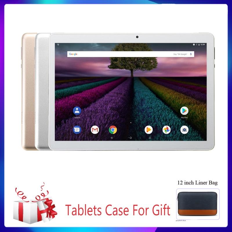 New 10.1 Inch Tablet PC System 9.0 3G Phone Call 2GB+32GB ROM Quad Core Bluetooth 4.0 Wi-FI 2.5D Steel Screen PC Tablet Truth Fi