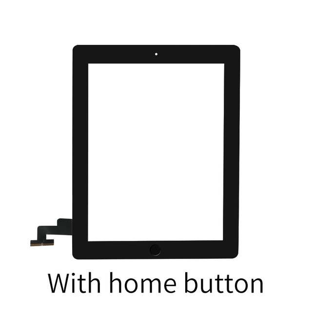 """9.7"""" Touch Screen For iPad 2 A1395 A1396 A1397 Touch Panel LCD Outer Display Replacement Digitizer Sensor Glass 6"""