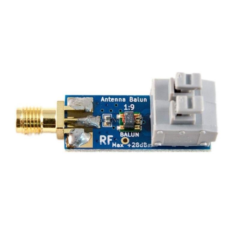 1:9 antena hf balun um nove: minúsculo de baixo custo 1:9 balun faixa de freqüência fio longo hf antena RTL-SDR 160m-6m novo whosale & dropship