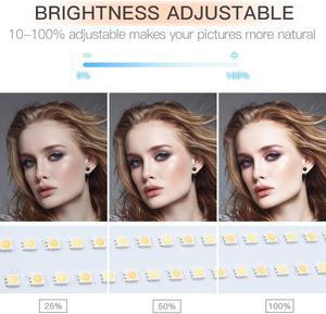 Image 4 - Travor dim bi renk 2 takım LED Video ışık kiti U braketi ile 3200K 5600K CRI96 ve çanta Studio fotoğrafçılık Video çekim