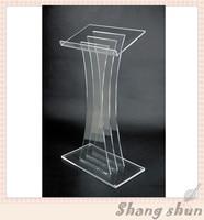 Púlpito acrílico do pódio do púlpito da igreja do púlpito de lectern para os pódios da igreja para a venda plexiglass|Móveis para teatro| |  -