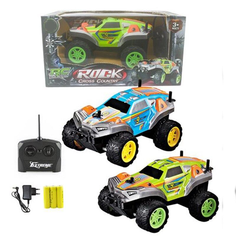 Children Remote Control Electric Toy Car 4-Way Wireless Remote Control Model Mountain Buggy Rock Crawler Car Model