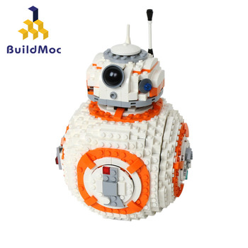 Buildmoc BB8 Star Wars Robot Set Series Mini 75187 Building Blocks Toys Compatible Lepining