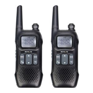 Retevis RT616/RT16 PMR Walkie Talkie 2 pcs Family Use Emergency Radio VOX NOAA Weather Alert FM Radio Two Way Radio PMR446 FRS