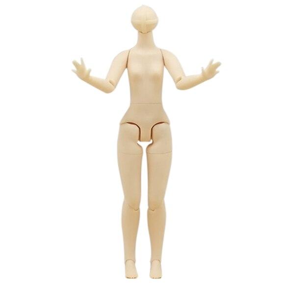 Бесплатная доставка Средний Blyth совместное тело только для средней куклы, для 1/8 кукла игрушка подарок Удача день