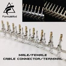 """FormulaMod Fm-DZ, мужской/женский кабельный разъем, 5557/5559 D-type Sata разъем для """"сделай сам"""" для наращивания кабелей"""
