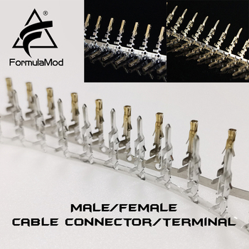 FormulaMod Fm-DZ, Male/female Terminal Cable Connector, 5557/5559 D-type Sata Connector For DIY Extension Cables image