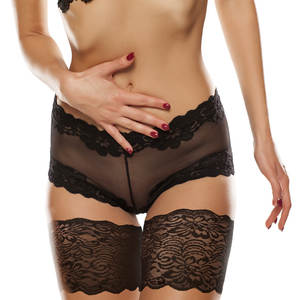 Leg-Warmers Anti-Friction Thigh-Bands Bandelettes Silicone Lace Women No Phone-Card Sexy