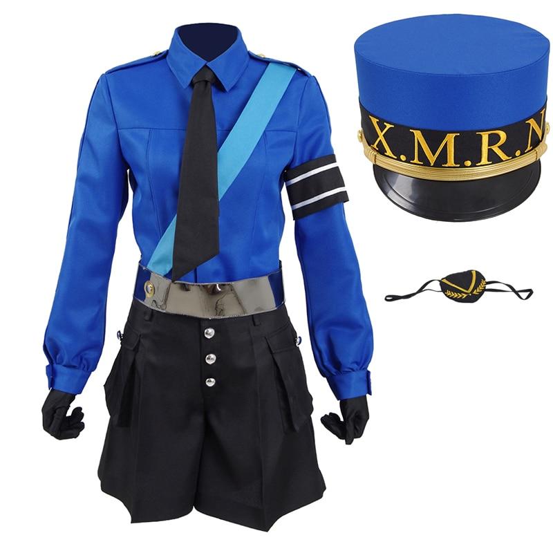 Persona 5 Goro Akechi School Uniform Outfits Halloween Cosplay Costume Full Set