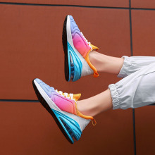 Couple Sneakers Women Casual Shoes Increase Air Cushion Brand Light Running shoes Girls Big Size Breathable Slip Spring Autumn