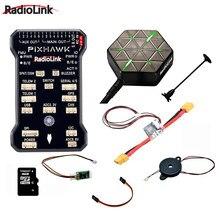 Módulo de telemetria do cartão do sd da campainha 4g para zangões fpv controlador de voo do pix apm de radiolink pixhawk combo com suporte de gps m8n