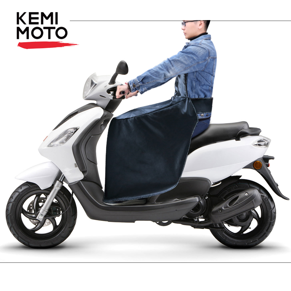 KEMiMOTO Legs Covers For Scooters Knee Warmer Protector Water Repellent Motorcycle Winter Quilt For Vespa GTS GTV LX