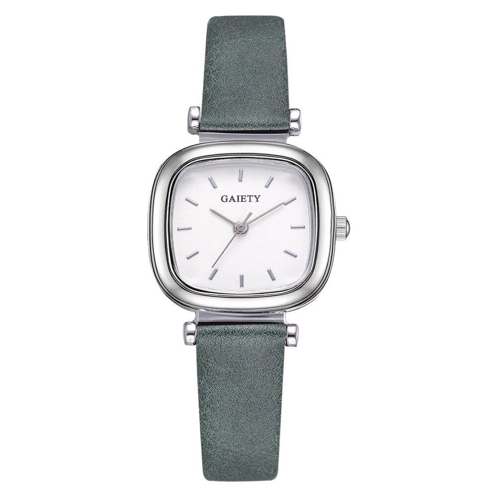 Women's Watch Fashion Square Leather Laides Watch For Women Watch Female Clock Relogio Feminino Reloj Mujer 2020 Zegarek Damski