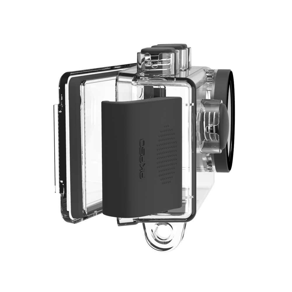 Akaso Dũng Cảm 6 4K Camera Hành Động Chống Nước Bộ Vệ Sinh Cho Akaso Brave6 Thể Thao Cam Dưới Nước 30M Chống Nước Tốt chất Lượng
