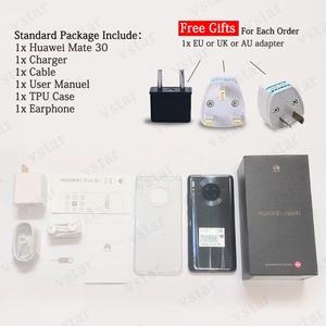 Image 5 - Küresel sürüm orijinal HUAWEI Mate 30 SmartPhone 6.62 Kirin 990 Octa çekirdek 8GB 128GB Android 10 hareket sensörü 40W süper şarj