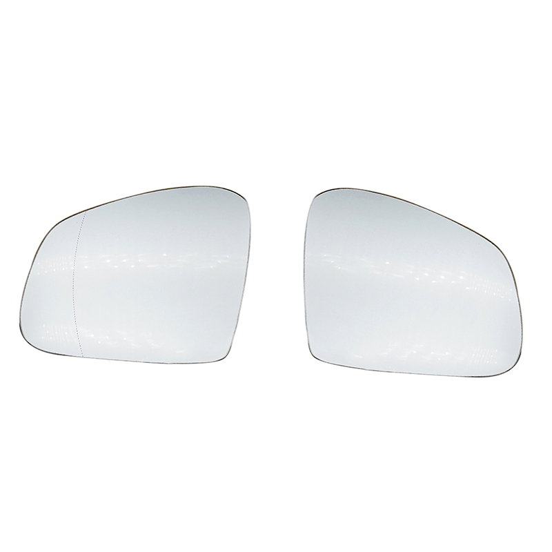 Right side mirror glass for Smart Fortwo Forfour 2014-On wide angle heated