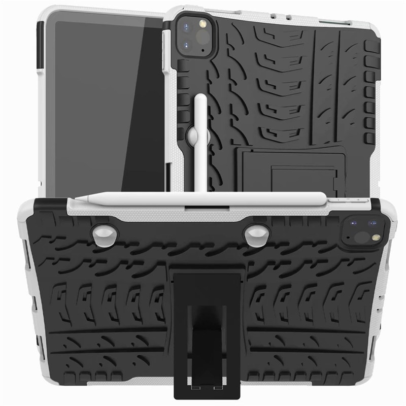 Flip For iPad New 2020 Pro Armor Stand 11 Case Pencil Case Holder Shockproof Cover With