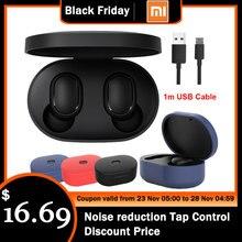 Original Xiaomi Redmi Airdots Xiaomi Drahtlose kopfhörer Voice control Bluetooth 5,0 Noise reduktion Tap Control