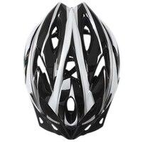 [Circunferencia de la cabeza: 54 ~ 64cm] Ajuste de tamaño del casco de bicicleta para adultos superligero con la sala de ventilación de prevención de vapor 18 p