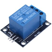5PCS KY-019 5V One Channel Relay Module Board Shield For PIC AVR DSP ARM for arduino Relay