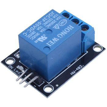 цена на 5PCS KY-019 5V One Channel Relay Module Board Shield For PIC AVR DSP ARM for arduino Relay