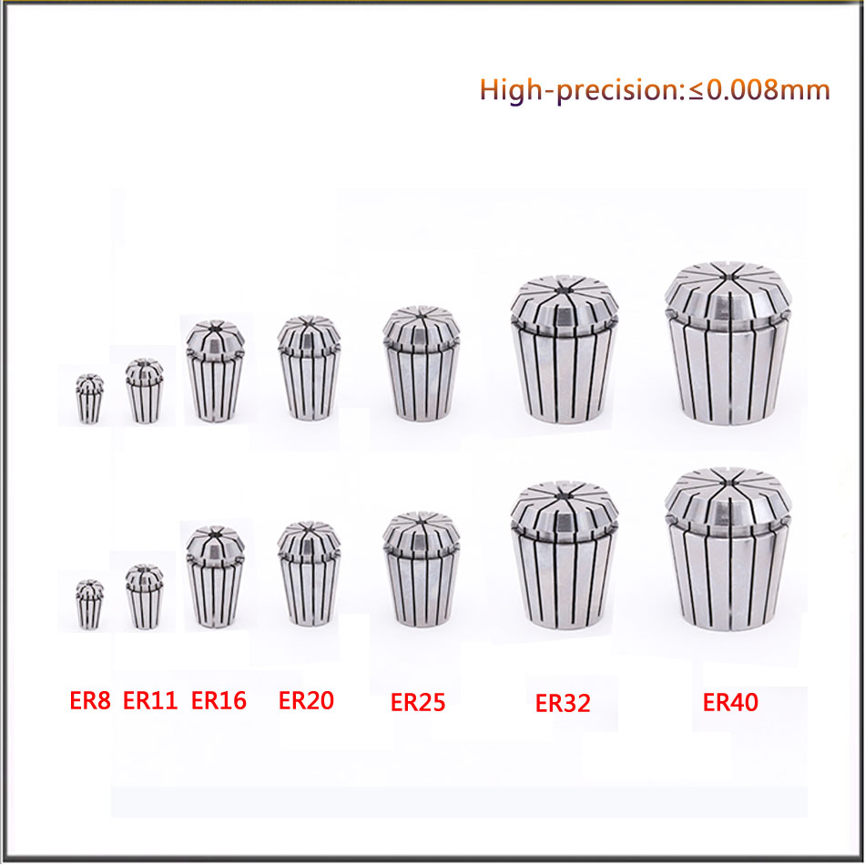 ER16 collet 1-10mm chuck for CNC milling tool Engraving machine spindle motor Milling cutters