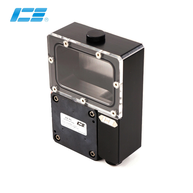 Iceman Cooler Reservoir Combo P5 Pump Kit For Ncase Cabinet Case M1 V4 V5 V6 Reservoir ,Black Water Tank ,127x90x40MM ICE-NC-P5