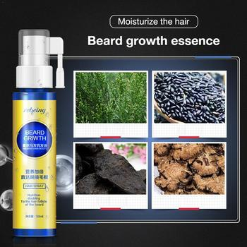 Men Beard Growth Essence  Enhancer Organic Beard Wax Balm Avoid Beard Natural Hair Loss Products Leave-In Conditioner Groomed Gr 3
