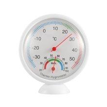 Мини круглые часы-образный Крытый Открытый гигрометр WS-A1 Влажность термометр измеритель температуры