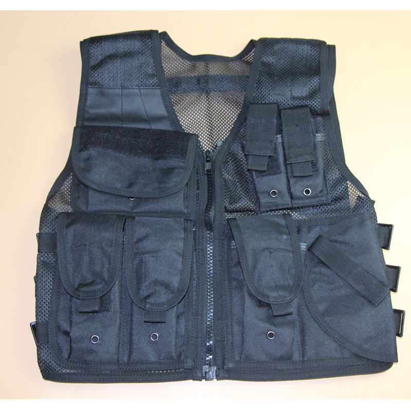 Tactical Military Mesh Vest Hunting Fishing Paintball CombatHiking Outdoor Airsoft Chest Rig Vest  Jacket Gun Holster Pouch