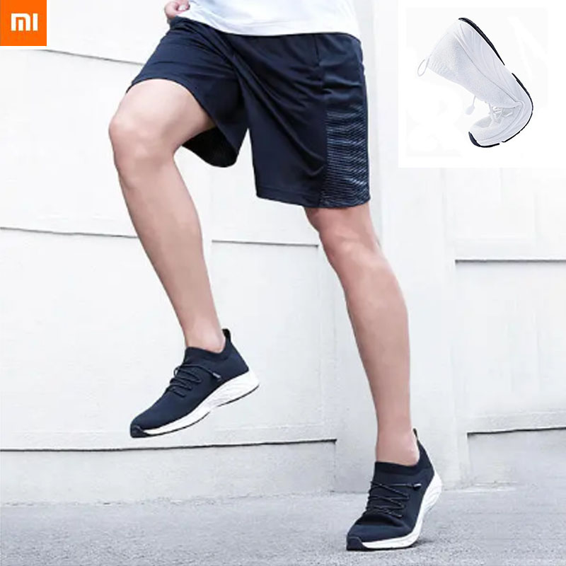 Xiaomi Mijia GTS+ Fly Knit Breathable Men Woman Sneakers Lightweight Dual Non slip Casual Sports Shoes Smart Remote Control  - AliExpress