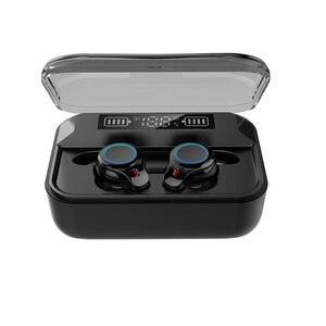 Беспроводные наушники Bluetooth 5,0 наушники TWS 9D Hifi стерео спортивная водонепроницаемая гарнитура отпечаток пальца с микрофоном 2020