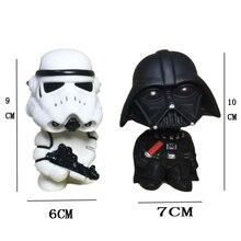 Figuras de acción de Darth Vader, muñecos de tropas de asalto de Star Wars, decoración para coche, regalo, 1 Uds.