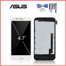 Original 4.7 LCD For ASUS Padfone 2 ll A68 LCD Display Touch Screen Digitizer Assembly With Frame For ASUS A68 LCD Panel цена