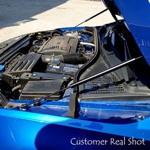 Image 4 - Für 2012 2020 Skoda Octavia A7 MK3 Auto Styling Refit Motorhaube Haube Gas Schock Strut Bars Unterstützung stange Zubehör
