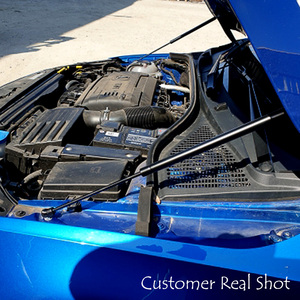 Image 4 - For 2012 2020 Skoda Octavia A7 MK3 Car Styling Refit Bonnet Hood Gas Shock Lift Strut Bars Support Rod Accessories