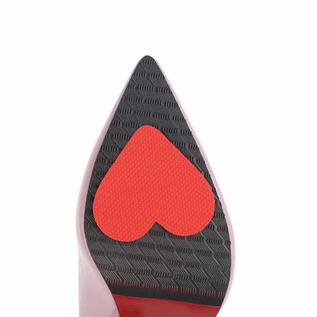 Solas de salto alto adesivos antiderrapantes antiderrapante resistente ao desgaste adesivos protetores antepé adesivos